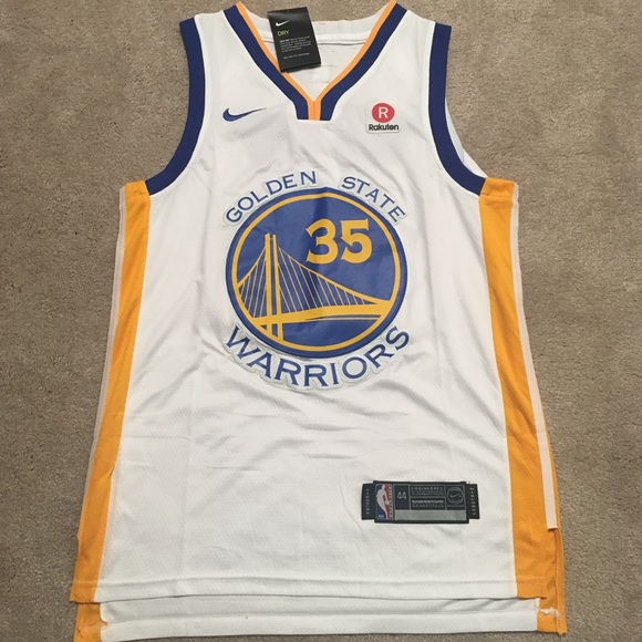 sports shoes e559e d3c6d BNWT KEVIN DURANT KD NIKE JERSEY Warriors GS NWT